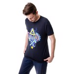 Sony - PlayStation Neon Lights T-Shirt - M - Packshot 2
