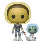 Rick and Morty - Morty Space Suit with Snake Pop! Vinyl Figure - Packshot 1