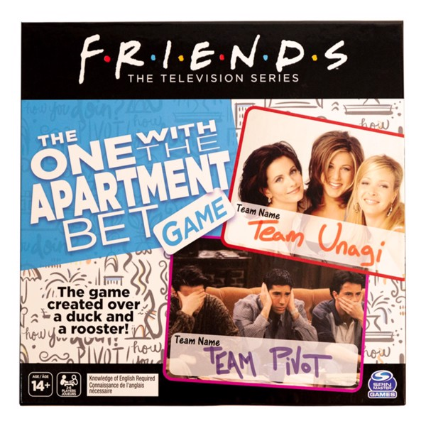 Friends: Losing the Apartment Board Game - Packshot 1