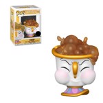 Disney - Beauty and The Beast - Chip with Bubbles Pop! Vinyl Figure - Packshot 1