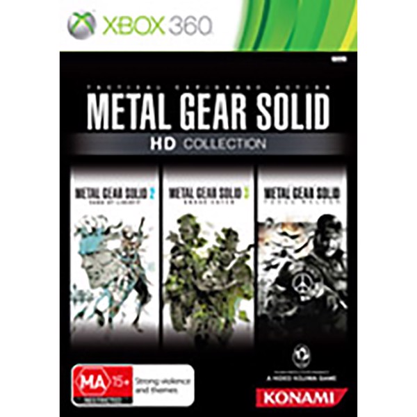 Metal Gear Solid: HD Collection - Packshot 1
