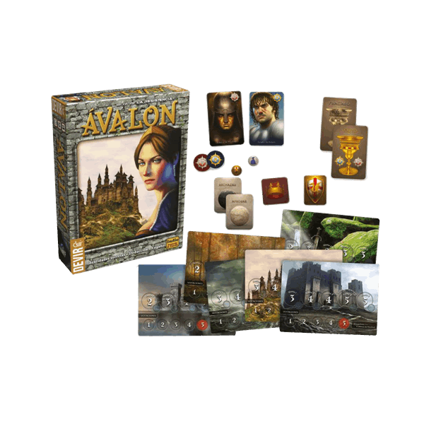The Resistance: Avalon Board Game - Packshot 4