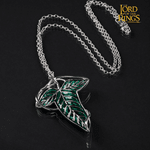 Lord of the Rings - Elven Leaf Pendant and Brooch - Packshot 2