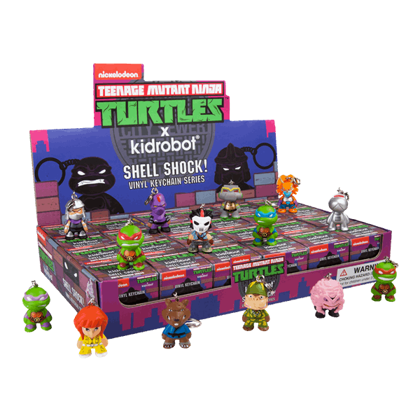 Teenage Mutant Ninja Turtles - Shell Shock! Blind Box Keychains - Series 2  (Single Box)
