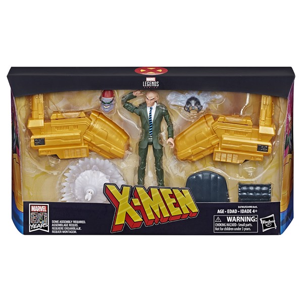 "Marvel -  Professor X with Hover Chair 6"" Marvel Legends Series Action Figure - Packshot 1"