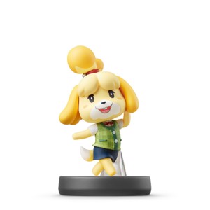 Nintendo amiibo (Super Smash Bros.) - Isabelle Animal Crossing Character Figure