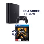 PlayStation 4 500GB Console + 1 Game - Packshot 1