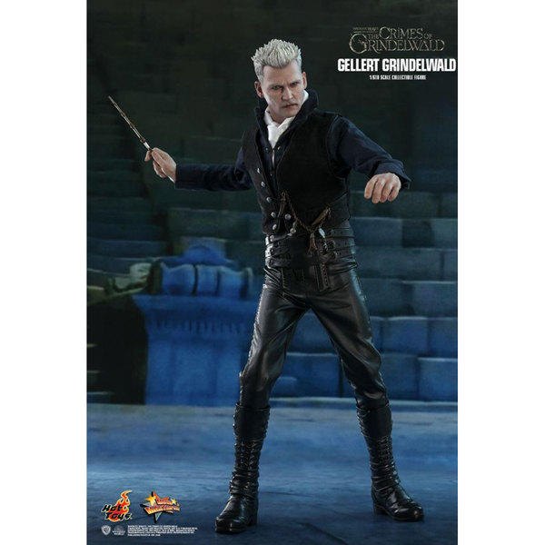 "Harry Potter - Fantastic Beasts 2: Crimes of Grindelwald - Gellert Grindelwald 12"" Action Figure - Packshot 4"