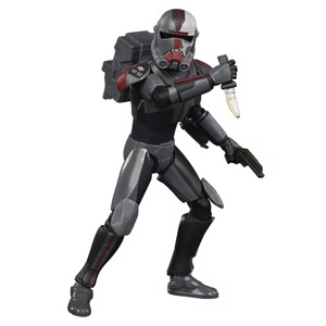 "Star Wars - The Clone Wars - Black Series Hunter Bad Batch Clone 6"" Action Figure"