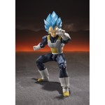 Dragon Ball Super - Super Saiyan God Vegeta Action Figure - Packshot 2