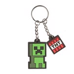 Minecraft - Creeper Sprite Keychain - Packshot 1