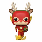 DC Comics - Flash Rudolph Holiday Pop! Vinyl Figure - Packshot 1