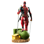 Marvel - Deadpool on Atom Bomb 1/6 Scale Statue - Packshot 5