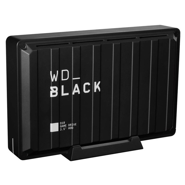 HDD WD D10 8TB Black Game Drive for PC - Packshot 6