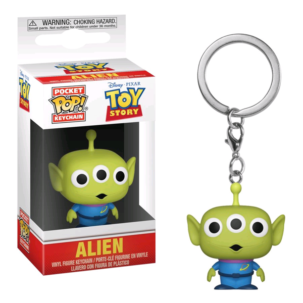 Disney - Toy Story - Alien Pocket Pop! Keychain - Packshot 1