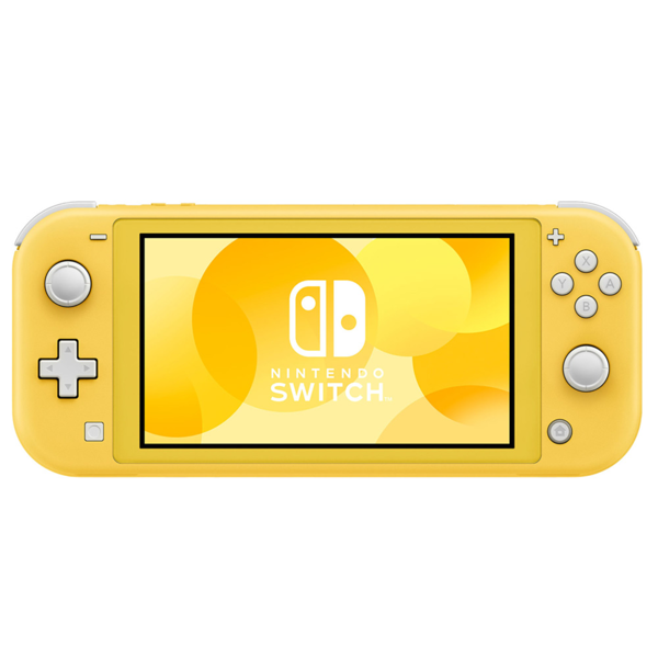 Nintendo Switch Lite Console - Yellow - Packshot 1