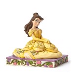 Disney - Beauty and the Beast - Be Kind Seated Belle Jim Shore Statue - Packshot 1