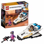 LEGO - Overwatch - Tracer V Widowmaker - Packshot 1