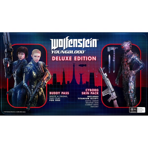 Wolfenstein: Youngblood Deluxe Edition - Packshot 2