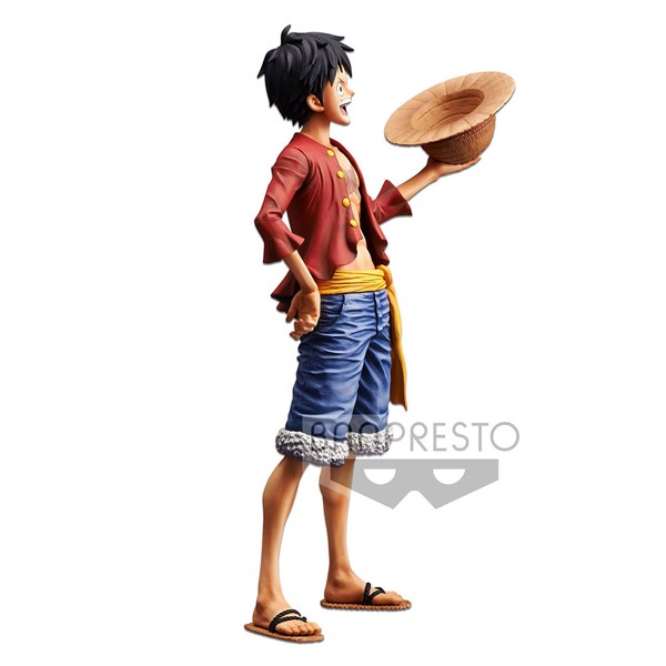 One Piece - Monkey D. Luffy  28 cm Grandista Nero Figure - Packshot 4