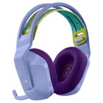 Logitech G733 Lightspeed Wireless RGB Gaming Headset - Lilac - Packshot 3