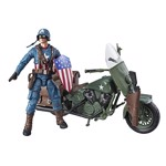 Marvel - Legends Ultimate Vintage Captain America Vehicle Action Figure - Packshot 1