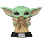Star Wars - The Mandalorian The Child with Frog Pop! Vinyl Figure - Packshot 1