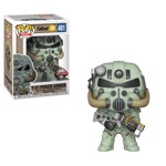 Fallout 76 - T-51 Green Power Amour Pop! Vinyl Figure - Packshot 1