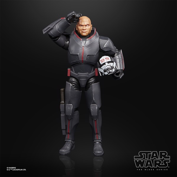 Star Wars - The Bad Batch Black Series Wrecker Deluxe Action Figure - Packshot 5
