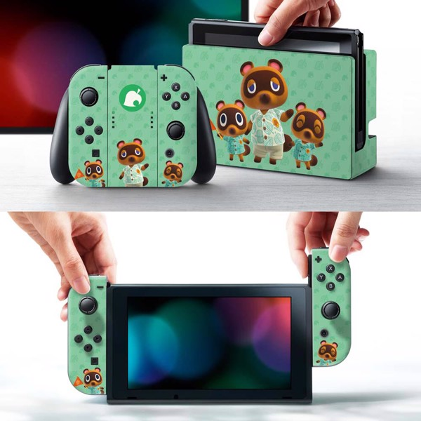 Animal Crossing - Controller Gear Tom Nook & Friends Nintendo Switch Decal - Packshot 6