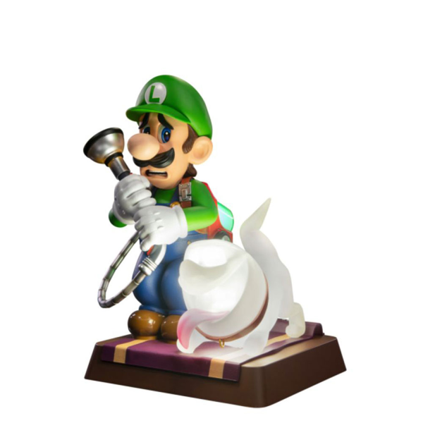 "Luigi's Mansion 3 - Luigi 9"" PVC Collector's Edition Statue - Packshot 5"