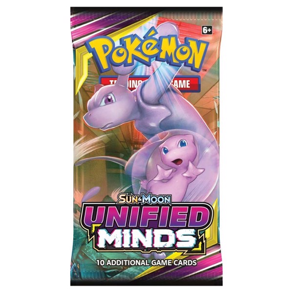 Pokemon - TCG - Unified Minds Booster Pack - Packshot 4