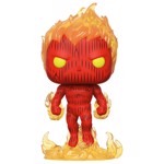 Fantastic Four - Human Torch Pop! Vinyl Figure - Packshot 1