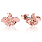 Disney - Dumbo Face Rose Gold Stud Earrings - Packshot 1