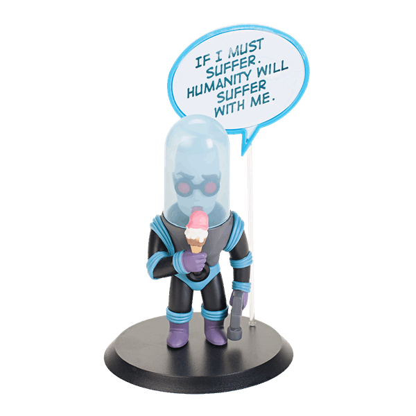 "DC Comics - Mr Freeze 3.5"" Quantum Mechanix Q-Pop Figure - Packshot 1"