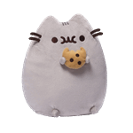 "Pusheen - Pusheen with Cookie 9.5"" Plush - Packshot 1"