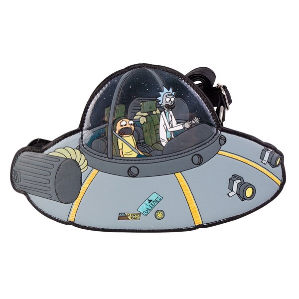 Rick and Morty - Spaceship Crossbody Purse - Packshot 1