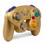 Nintendo Switch PowerA Wireless Gamecube Controller - Gold - Packshot 2