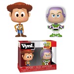 Disney - Toy Story - Woody & Buzz Vynl Figures 2-Pack - Packshot 1