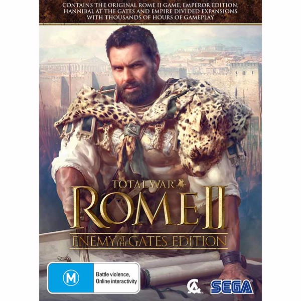 Total War: Rome 2 - Enemy At The Gates Edition - Packshot 1