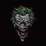 DC Comics - Joker Text face T-Shirt - Packshot 2