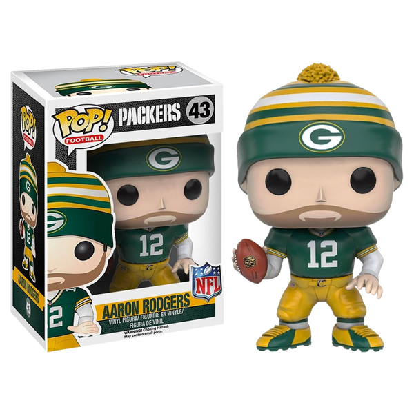 NFL - Green Bay Packers - Aaron Rodgers Pop! Vinyl Figure - Packshot 1