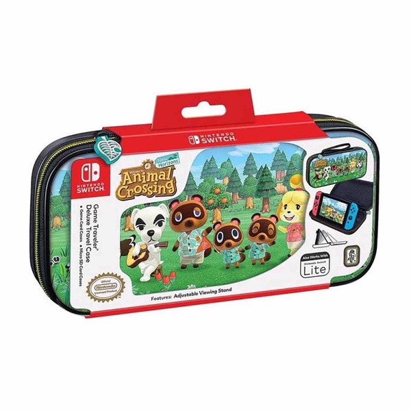 Animal Crossing Game Traveler Deluxe Case for Nintendo Switch - Packshot 3