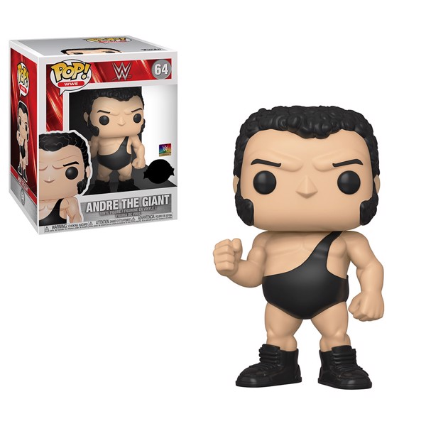 "WWE - Andre the Giant 6"" Pop! Vinyl Figure - Packshot 1"