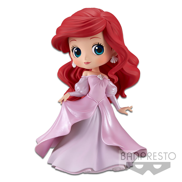 Disney - The Little Mermaid - Pink Princess Ariel Q Posket Figure - Packshot 1