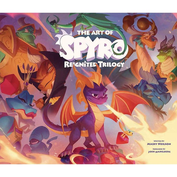 The Art of Spyro - Reignited Trilogy Book - Packshot 1
