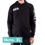 DC Comics - Batman Zip-Up Men's Hoodie - Size: XL - Packshot 1