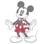 Disney - Mickey Mouse Scarf T-Shirt - M - Packshot 2