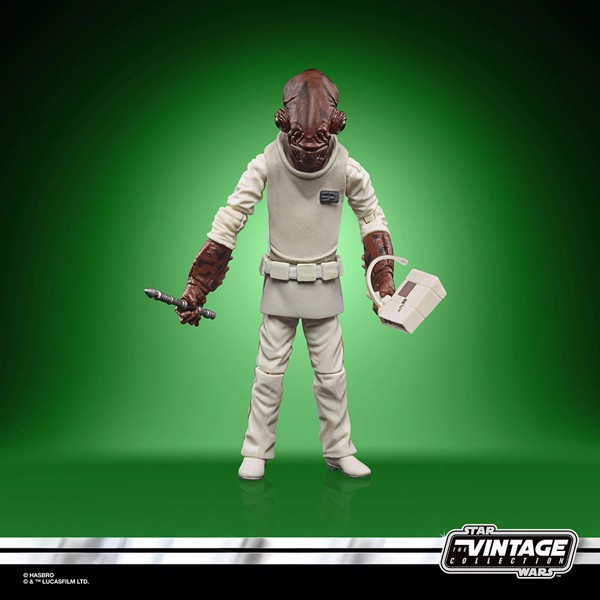 Star Wars - Episode VI Vintage Collection Admiral Ackbar Action Figure - Packshot 4
