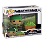 Avatar: The Last Airbender - Cabbage Man & Cart 2-Pack NYCC19 Pop! Vinyl Figure - Packshot 2